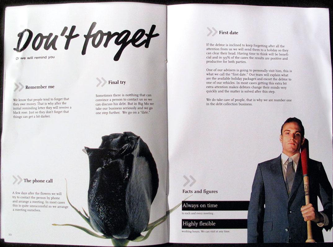 Spread from BigMo brochure
